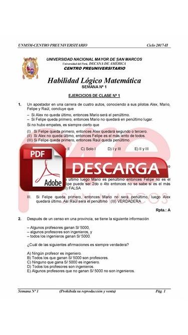 Semana 1 Pre San Marcos 2017-II (UNMSM) PDF.JPG