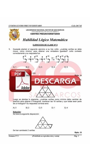 Semana 5 Pre San Marcos 2017-II (UNMSM) PDF.JPG