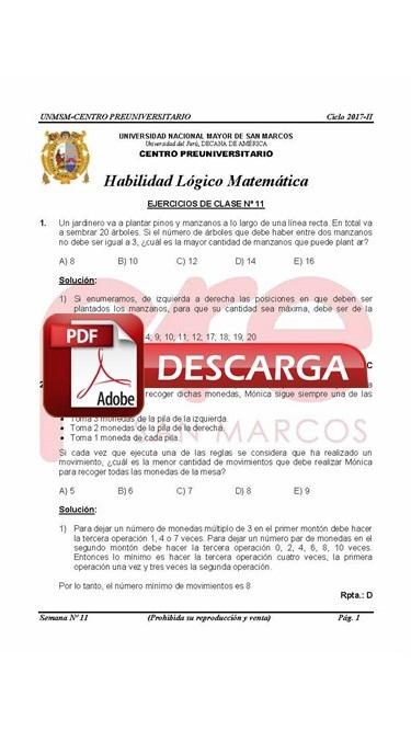 Semana 11 Pre San Marcos 2017-II (UNMSM) PDF.JPG