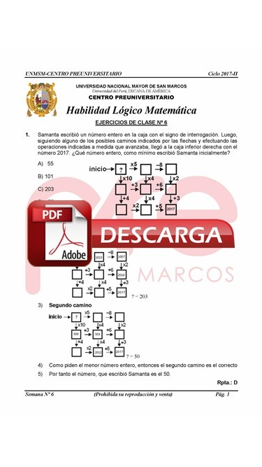 Semana 6 Pre San Marcos 2017-II (UNMSM) PDF.JPG