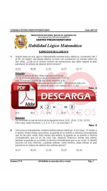 Semana 9 Pre San Marcos 2017-II (UNMSM) PDF.JPG